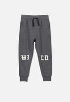 Cotton On - Lewis wild trackpant - charcoal