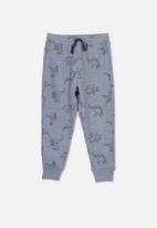 Cotton On - Lewis dinosaurs trackpant - blue
