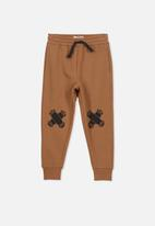 Cotton On - Lewis trackpant - brown