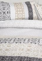 Linen House - Mariana duvet cover set - neutral