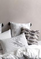 Linen House - Mexica duvet cover set - grey
