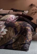 Linen House - Neve duvet cover set - wine