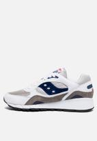 Saucony Originals - Shadow 6000 - White/Purple/Yellow
