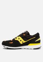Saucony Originals - Azura - black/yellow/orange