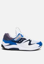 Saucony Originals - Grid 9000 - white & blue