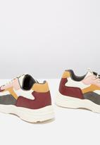 Cotton On - Marley colour block trainer - multi