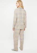 Superbalist - Sleep shirt & pants set - neutral