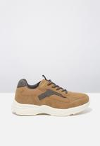 Cotton On - Marley trainer - brown