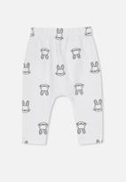Cotton On - The easter bunny legging - white