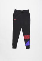 Under Armour - Rival jogger - black & penta pink