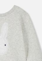 Cotton On - Billie bunny sweater - grey