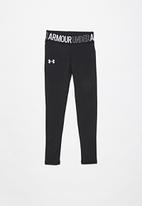 Under Armour - Armour hg legging - black & white