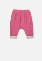 Cotton On - The baby cord pant - pink