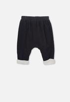 Cotton On - The baby cord pant - dark navy
