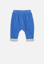 Cotton On - The baby cord pant - blue
