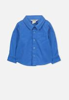 Cotton On - Bryn long sleeve shirt - blue
