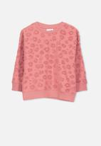 Cotton On - Sage crew - pink
