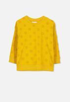 Cotton On - Sage crew - yellow