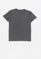 Quiksilver - Scriptural short sleeve  youth - grey