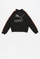 PUMA - Classics t7 - black & peach