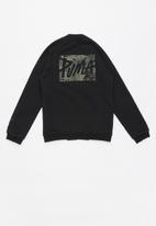 PUMA - Style bomber jacket - black