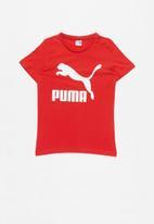 PUMA - Classics tee b ribbon - red