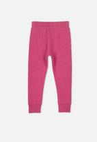 Cotton On - Kallie trackpant - pink