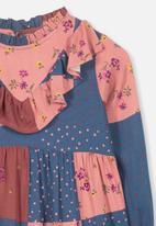 Cotton On - Laura long sleeve dress - multi