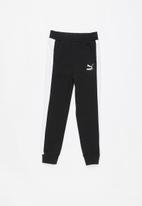 PUMA - Classic t7 track pants - black & white