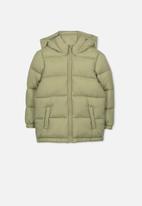 Cotton On - Frankie puffer jacket - khaki