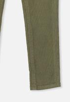 Cotton On - Jordan cord jegging - green