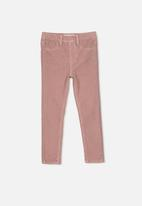 Cotton On - Jordan cord jegging - pink