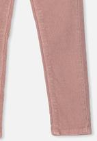 Cotton On - Jordan cord jegging - pink