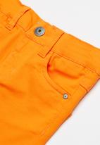 name it - Theo skinny chino pants - orange