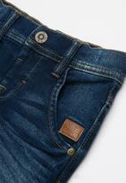 name it - Robin regular denim pants - navy