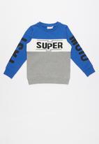 name it - Super print sweat top - multi