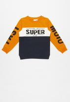 name it - Super print sweat top - multi