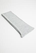 Superbalist - Moss stitch scarf - grey