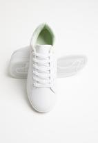 Vero Moda - Flatform sneaker - white & green