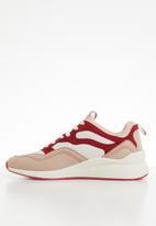 Vero Moda - Flatform sneaker - pink & red
