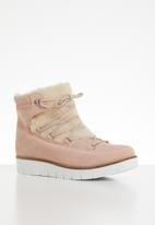 Vero Moda - Elsa leather boot - pink