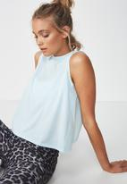 Cotton On - Cross over tank top  - blue