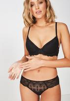 Cotton On - Abby brasiliano brief  - black