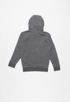 Quiksilver - Keller art youth hoodie - charcoal