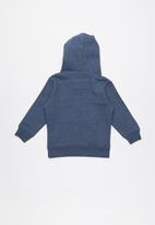 Quiksilver - Big logo hoodie boy - blue