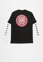 Vans - Checker co. twofer boys - black & white