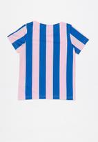 adidas Originals - Ed stripes jersey - pink & blue