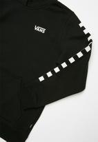 Vans - Left check top - black