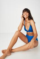 Cotton On - Sporty femme bralette  - blue