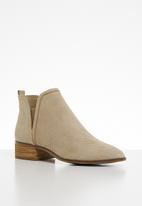 ALDO - Araecien leather boot - beige